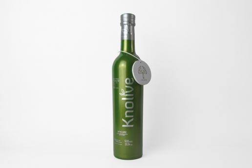 knolive botella packaging
